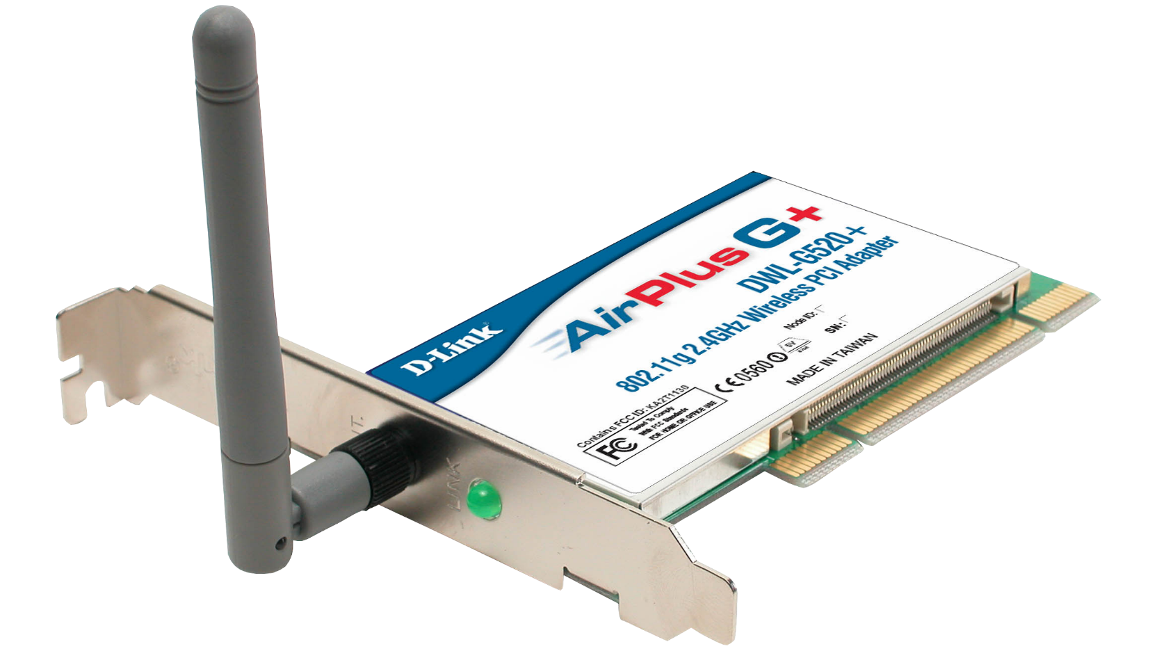 D-link airplus dwl 520+ w-lan karte youtube.