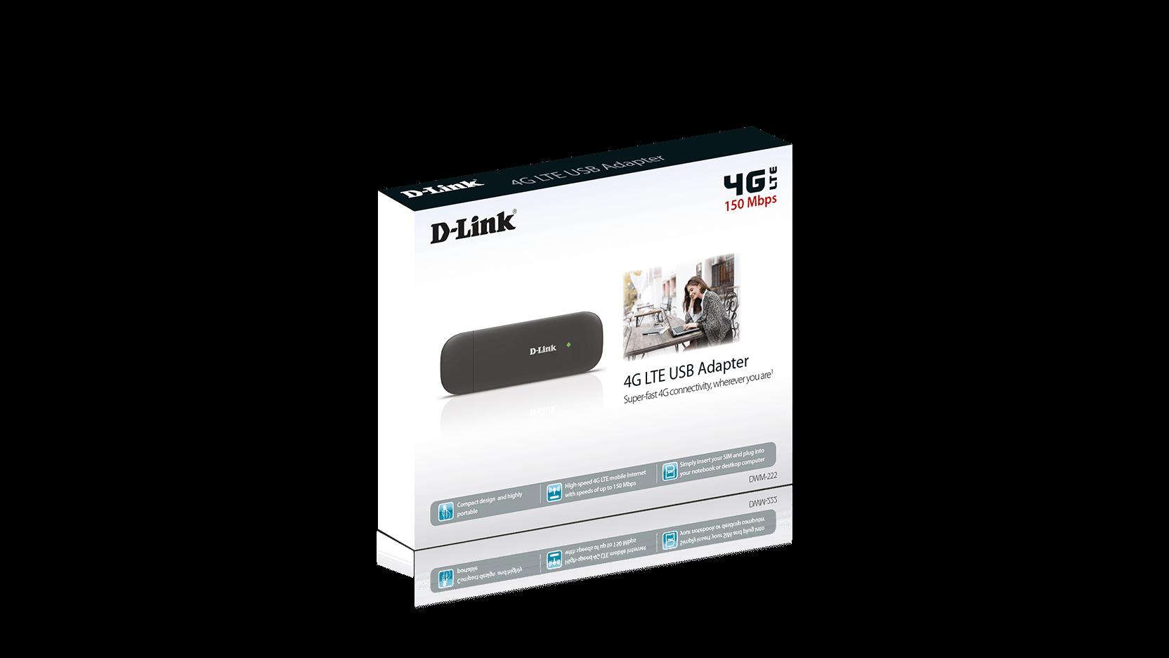 DWM-222 4G LTE USB Adapter | D-Link UK