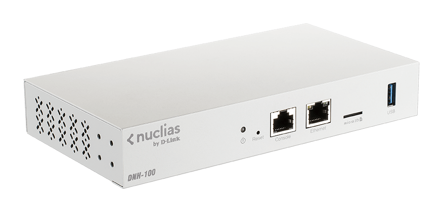 DNH-100 Nuclias Connect Hub - side view