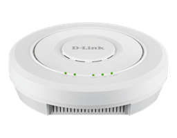 Front of the DWL-6620APS Wireless AC 1200 Wave2 Dual-Band Unified Access Point With Smart Antenna